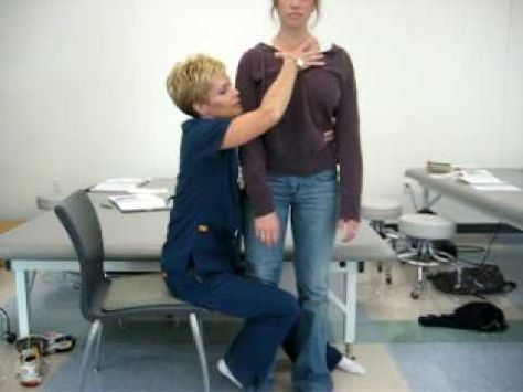 Facilitation of sit to stand (from side) - YouTube