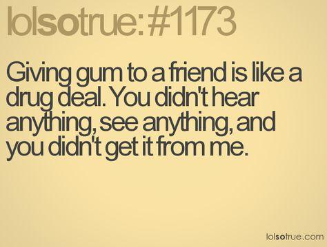 Always happened at school