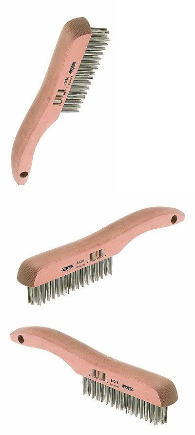 Wire Brushes 178971 Stainless Steel Wire Scratch Brush Heavy Duty