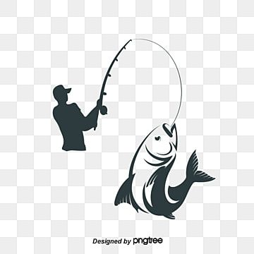 Vector People Fishing Fishing Rod Clipart People Vector People Png Transparent Clipart Image And Psd File For Free Download Fish Illustration Fish Clipart Fish Vector