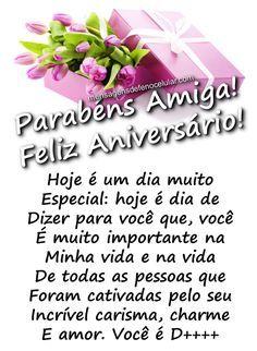 Seja Feliz Hoje E Sempre Amiga Happy Birthday Happy Birthday