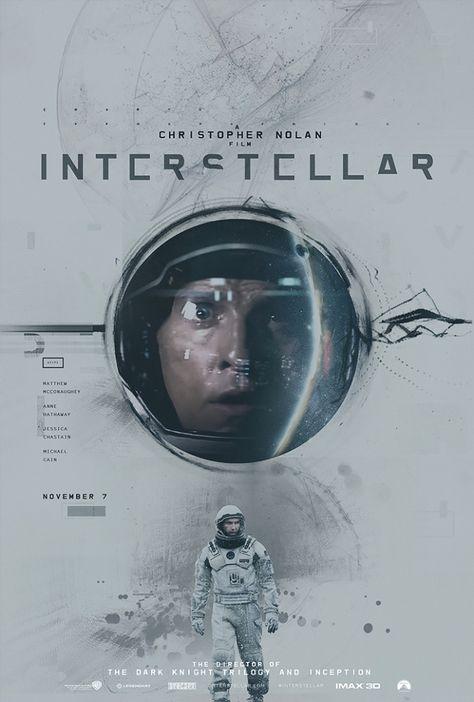 Alternative Interstellar Posters by James Fletcher | Inspiration Grid