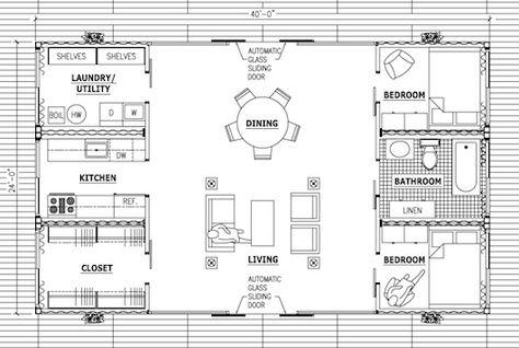 plan maison container maritime - plan maison container gratuit