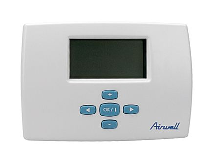 Thermostat D Ambiance Programmable Filaire Airwell Airwell