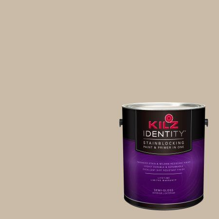 Kilz Identity Interior Exterior Stainblocking Paint Primer In One Lk160 Dusty Road 1 Gallon Paint Primer Exterior Paint Mildew Stains
