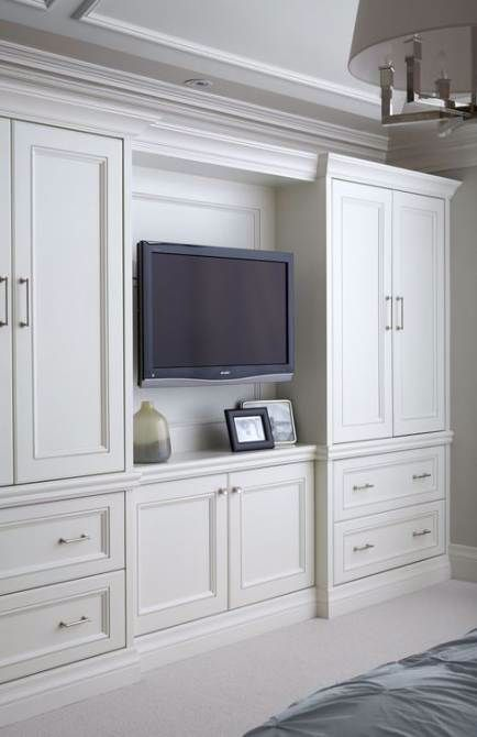 Built In Wardrobe Ideas With Tv