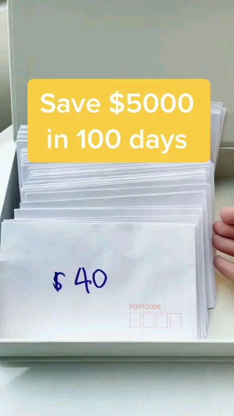 Save $5000 in 100 days