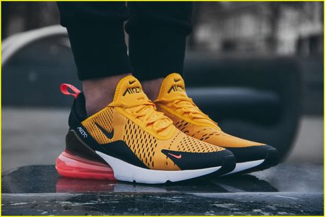 Nike Air Max 270 Light Bone Hot Punch AH8050-003  thatdope  sneakers  luxury   dope  fashion  trending  UpcomingFashionTrends  9f7654119