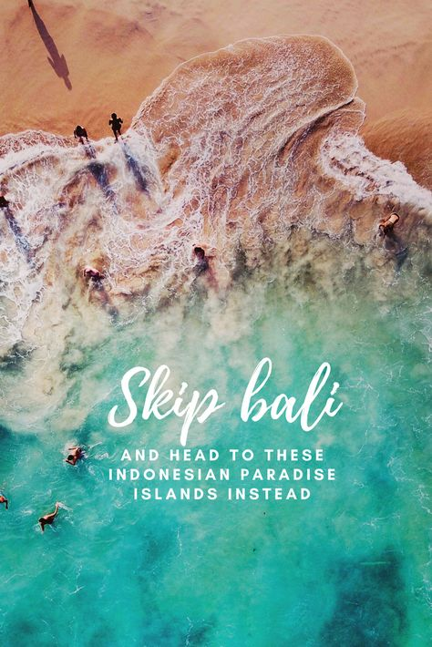 Some of the best beaches in Indonesia are not in Bali. Find out where you'll find some of the best places to travel to in Indonesia. Including where to find some of the best Indonesian landmarks. #Bali #indonesia #Asia