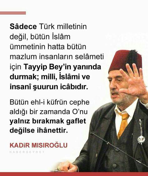 p #KadirMısıroğlu #Millet...