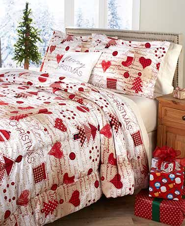 4 Pc Seasonal Comforter Sets With Images Christmas Bedding