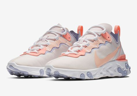 c7bc1d964 Nike React Element 55 Pale Pink BQ2728-601  thatdope  sneakers  luxury   dope  fashion  trending