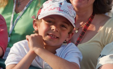 Young fans of the RBC Heritage Golf Tournament, the most family friendly event on the PGA Tour