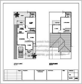 floor plan rumah mesra rakyat - contoh tiup