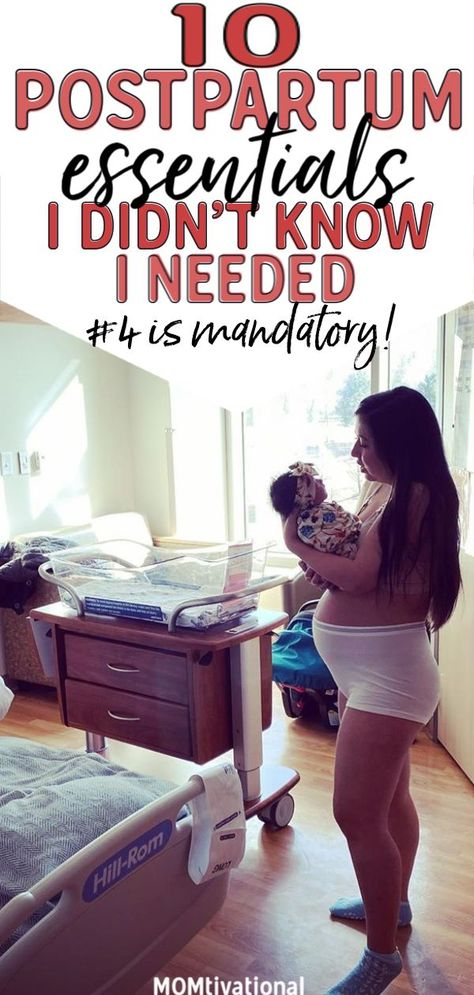 10 Postpartum Essentials I Didn't Know I Needed - 10 Postpartum necessities for mom you want to have after labor. Once you have your newborn in your - Postpartum Must Haves, Postpartum Care, Postpartum Recovery, Postpartum Body, Baby Life Hacks, Pregnancy Care, Pregnancy Eating, Pregnancy Back Pain, Pregnancy Help