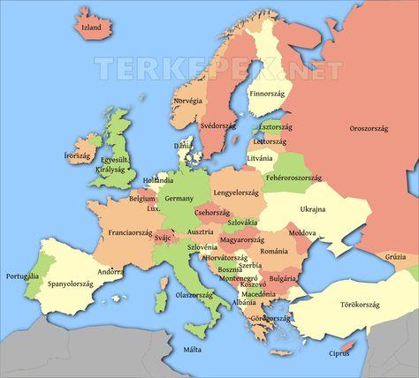 Europa Orszag Terkep Google Kereses Lettorszag Esztorszag Terkep