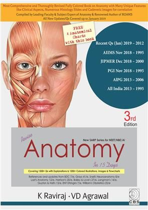 CBS Publishers & Distributors Revise Anatomy in 15 Days (New