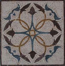 16 Piso De Pared Geométrico Decorativo Hecho A Mano Mosaico