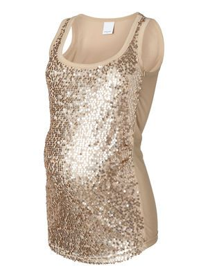 784045f6b8116 Sequins top from MAMALICIOUS. #mamalicious #top #sequins #party #sparkle # maternity #fashion #pregnancy
