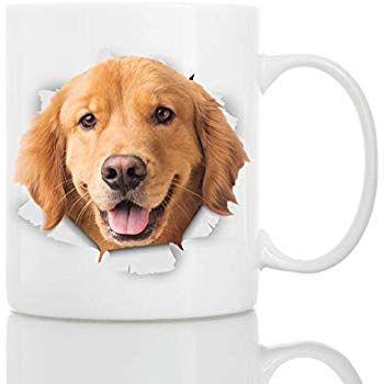 Amazonsmile Golden Retriever Puppy Dog Mug Ceramic 11oz Funny