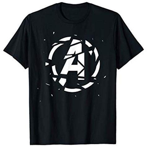 Marvel Avengers: Endgame Shattered Logo T-Shirt #joyefunbekleidung