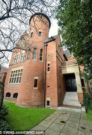 Piece of history: Tower House was built in the 1870s by Victorian architect William Bruges...