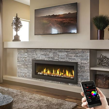 Chimeneas In 2020 Vented Gas Fireplace Direct Vent Gas Fireplace Fireplace Design