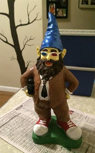 Doctor Who Gnome #gnome #doctor_who #dr_who