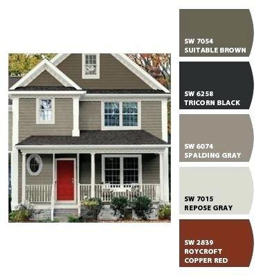 Sherwin Williams Exterior Top Exterior Paint Color Combinations O