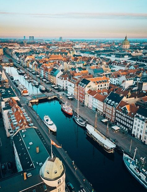 Explore the best things to do in Copenhagen, Denmark, with our ultimate guide. Find top recommendations for taking pictures, best places to visit, and more in this post. Cool Places To Visit, Places To Travel, Travel Destinations, Places To Go, Travel Europe, European Travel, Holiday Destinations, Italy Travel, Visit Denmark