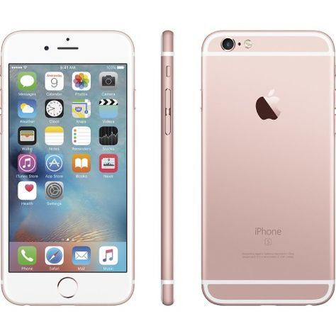 Apple Iphone 6s 64gb Rose Gold At T Alternateview12 Zoom