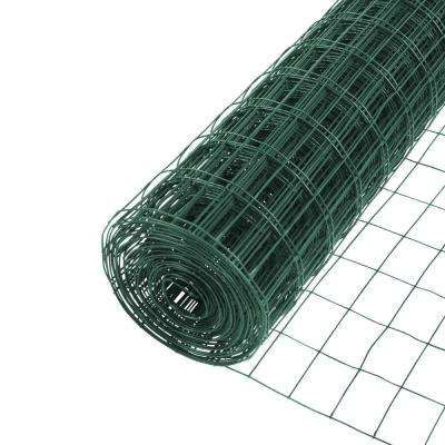 4 Ft X 50 Ft 14 Gauge Vinyl Green 3 In X 2 In Mesh Welded Wire In 2020 Welded Wire Fence Wire Mesh Fence Mesh Fencing