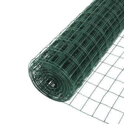 4 Ft X 50 Ft 14 Gauge Vinyl Green 3 In X 2 In Mesh Welded Wire In 2020 Welded Wire Fence Wire Mesh Fence Mesh Fencing