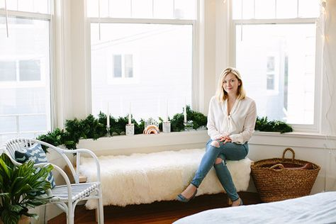Shelby Wax, Associate Editor - How Lonny Editors Decorate Their Homes For The Holidays - Photos