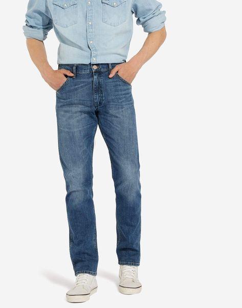 Mid Icon Wrangler Icons 11MWZ Western Slim Mens Jeans