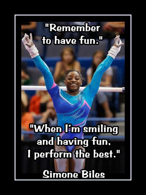 cheer quotes Girls Gymnastics Motivation Poster Gymnast Quote Wall Art, Daughter Wall Decor featuring Simone Biles is an inspiring, lasting gift for any aspiring gymnast. This ready-to-fr Team Usa Gymnastics, Gymnastics Videos, Gymnastics Workout, Gymnastics Pictures, Olympic Gymnastics, Gymnastics Girls, Gymnastics Stuff, Gymnastics Problems, Olympic Games