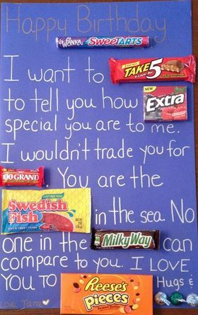 candy bar poster ideas with clever sayings best posters and Home