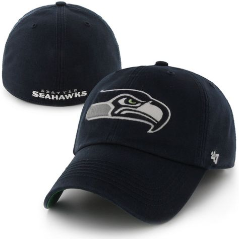 1b5f7da0f Seattle Seahawks  47 Franchise Fitted Hat - College Navy