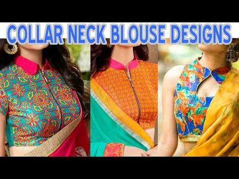 05ca5ef7eed618 Boat Neck Blouse With Designer Sarees - YouTube | blouses | Blouse ...