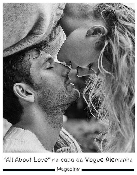"""All About ❤️ Love"" na capa da Vogue Alemanha – Gossip Boy"