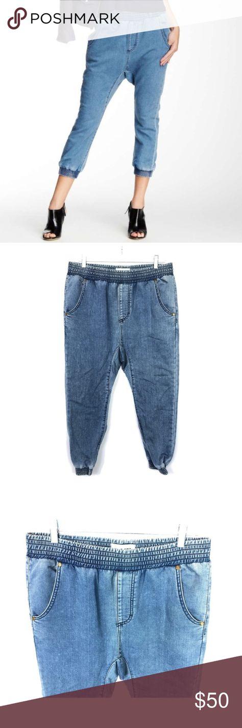One Teaspoon Falcons Jogger Jeans Sz Lg Jogger Jeans Knit Jogger Pants Joggers