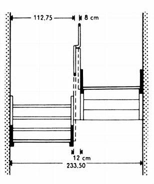 물매 및 필요한 공간 계단 물매의 결정에 있어서는 지금까지 일반적으로 다음 공식이 사용되고 있다 1걸음 2 단높이 1 디딜면 61 64cm 평균 62 5cm 규격치수 Din 4171 드물게는 1 단높이 1 디딜면 48cm 그러나 이것만으로는 가장 적합한 물매를 얻을 계단 아이디어