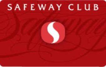 Safeway Club Card Number   Safeway Club Credit Card