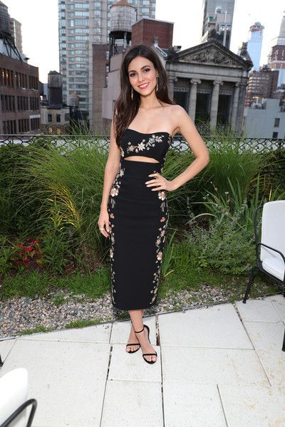 Actress & singer Victoria Justice attends as Saks And American Express Platinum celebrate the Shop Saks With Platinum benefit launch with a summer soiree at The NoMad Hotel Rooftop.