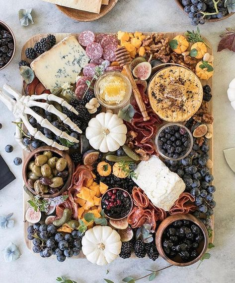 """REstyleSOURCE on Instagram: """"""""I put a spell on you...and now you're mine."""" - us to this amazing spooky charcuterie spread by @sugarandcharm 👻✨Happy Halloween!"""""""