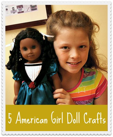 Our 5 favorite American Girl doll crafts, all in one post1 #eBayGuides #sponsored