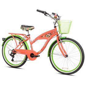 26 Bca Women S Margaritaville Multi Speed Cruiser Bike Walmart Com Margaritaville Bicycle Speed Bicycle
