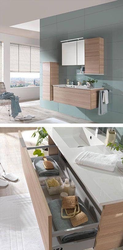 Modernes Badezimmer Mit Spiegelschrank Und Hangeschranke Bad Einrichten Bad Ideen Bad Planen Ba Badezimmereinrichtung Badezimmerausstattung Bad Inspiration