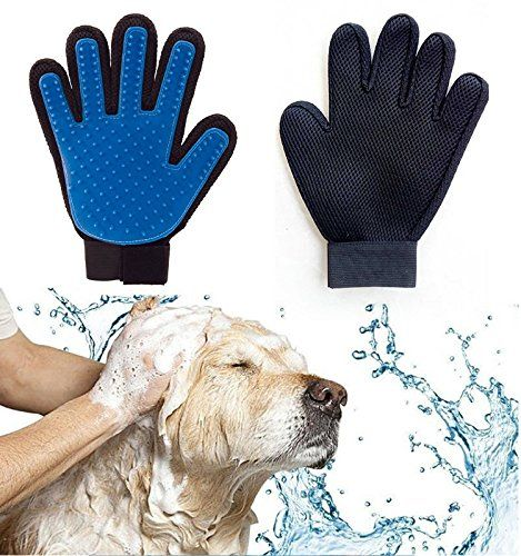 Winnii Pet Bath Gloves Cats And Dogs Universal Massage Brushes