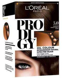 صبغة لوريال باريس برودجي بدون امونيا الالوان و المميزات L Oreal Prodigy Dye Ammonia Free Colores And Covering Gray Hair Loreal Paris Loreal